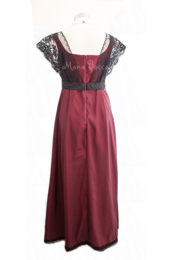 Downton Abbey inspired dress