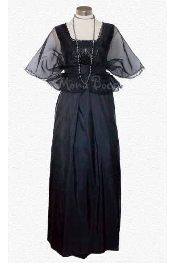 Edwardian dress handmade to order in England with bolero Lady Mary Crawley Downton Abbey vintage styled SALE
