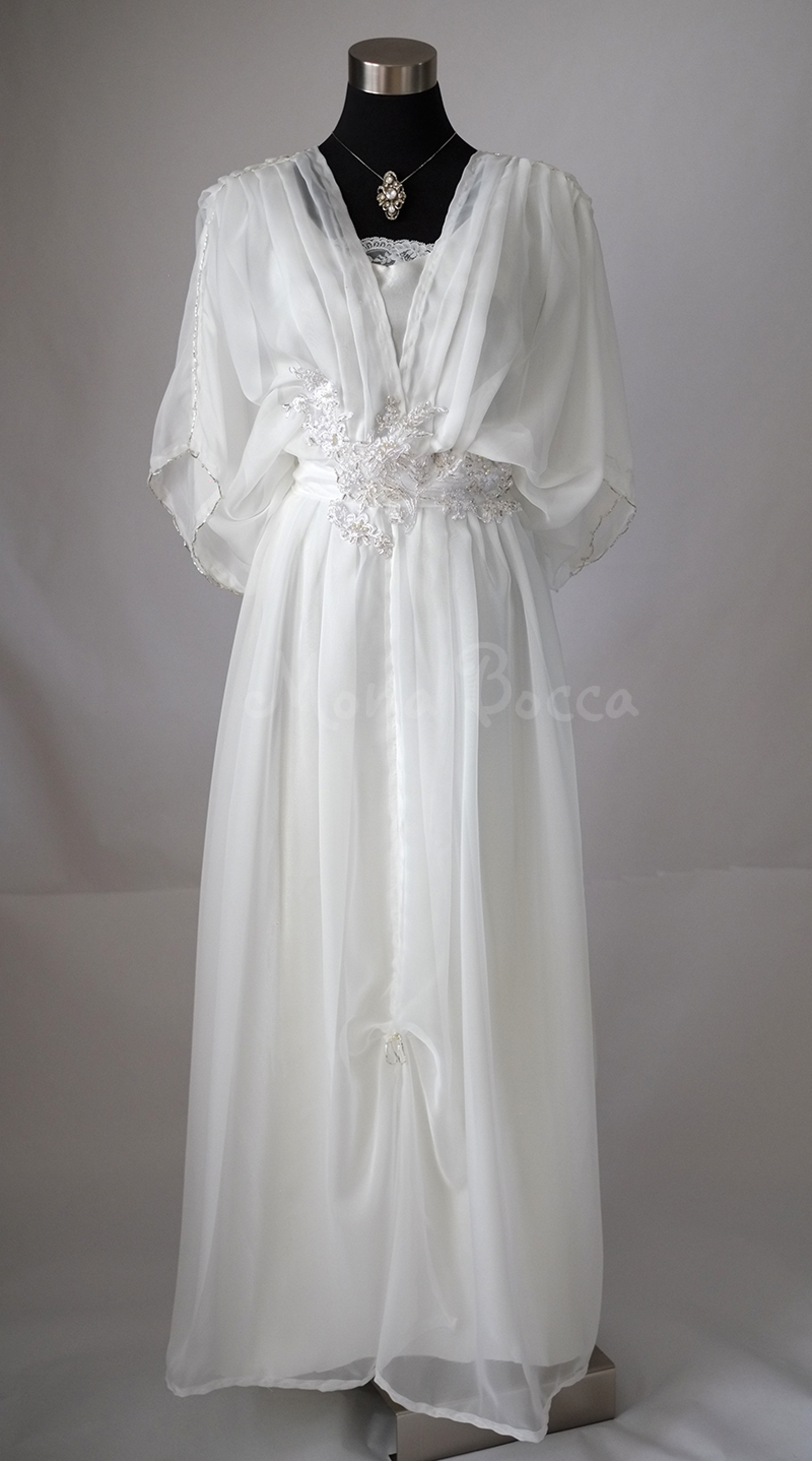 Edwardian Wedding Dress Handmade In England To Order