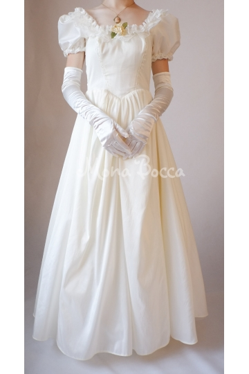 Victorian debutante dress Victorian soiree dress Made to order in UK by Mona Bocca