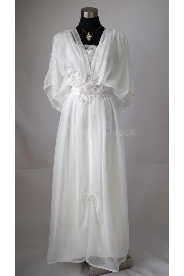 Ivory Edwardian wedding dress Downton Abbey inspired handmade in England 1910 dress